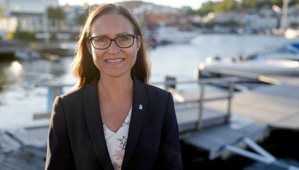 - FØLG RÅDENE: Ordfører i Grimstad, Beate Skretting (H), håper at innbyggere følger de råd og regler som gjelder. Foto: Fredrik Hagen / Dagbladet