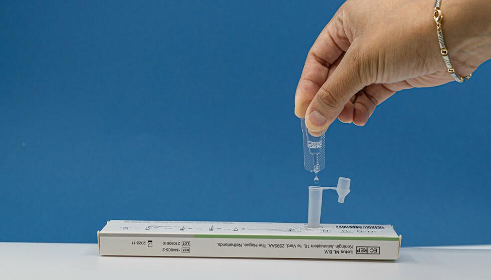 Boson SARS-COV-2 Antigen hurtigtest er den første covid-19-selvtesten på det norske markedet som er godkjent for private brukere.