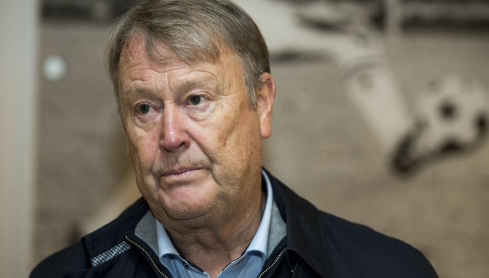 HENGER IKKE SAMMEN: Åge Hareide mener idrett og politikk ikke henger sammen. Foto: Carina Johansen / NTB
