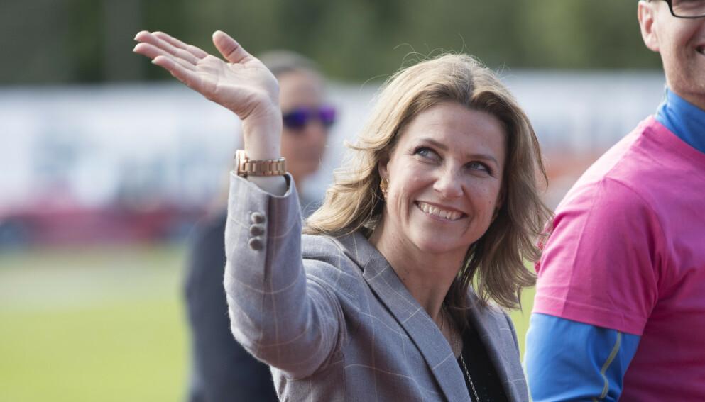 PÅ EGNE BEIN: De siste 20 åra har prinsesse Märtha Louise tjent pengene sine på egen hånd, som den første i det norske kongehuset. Foto: Terje Bendiksby / NTB