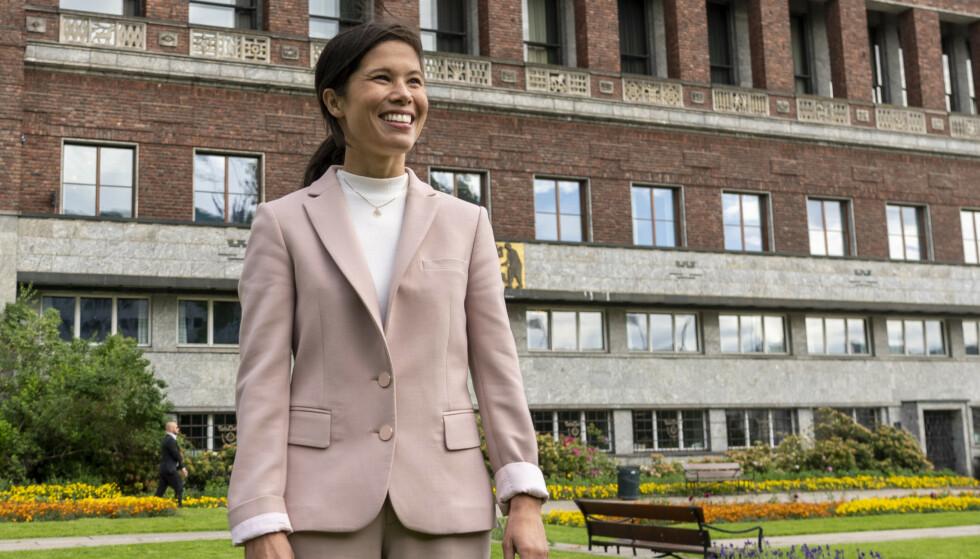 DYPT BEKYMRET: Da Ap, MDG og SV tok over byrådsmakten i 2015, og Lan Marie Berg gikk på som byråd for miljø og samferdsel, var jeg dypt bekymret. Ikke for Lans kompetanse, men for at hun tok over den kanskje mest krevende byrådsavdelingen i Oslo kommune, skriver artikkelforfatteren. Foto: Terje Pedersen / NTB