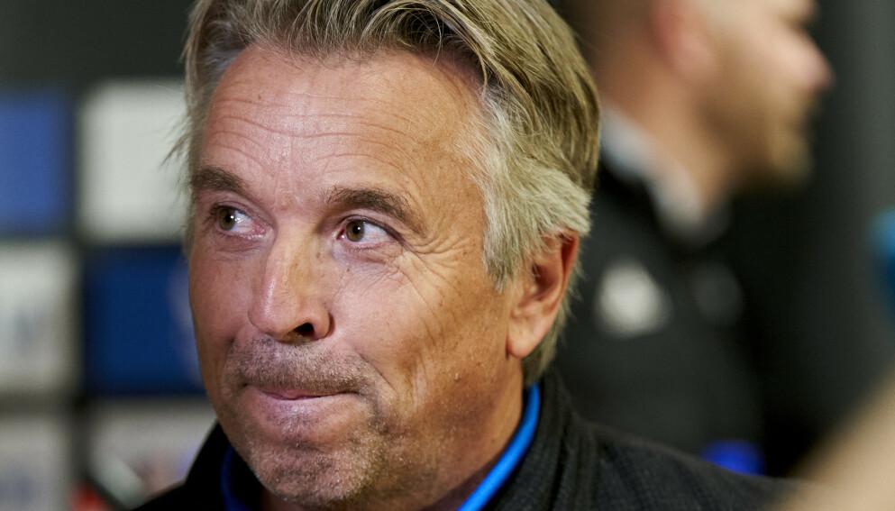 KRITISK: Jahn Ivar «Mini» Jakobsen er lite imponert over det Rosenborg har vist. Foto: Ole Martin Wold / NTB