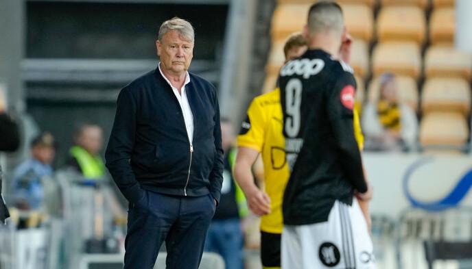 SLITER: Rosenborg og Åge Hareide står med tre strake tap, og trenger sårt en opptur. Foto: Fredrik Hagen / NTB