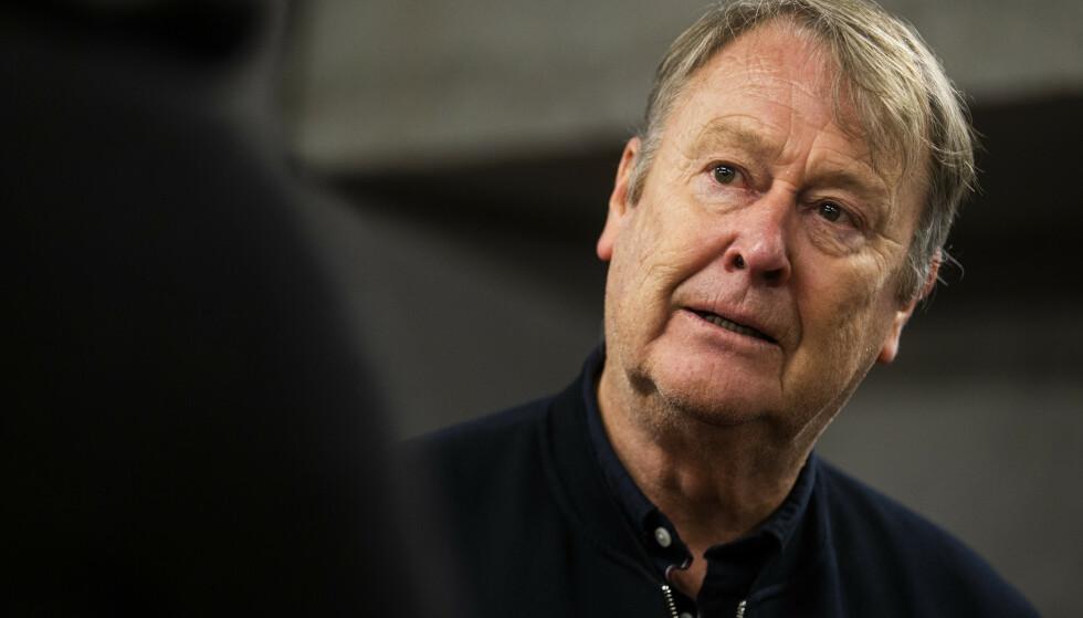 UENIG: Rosenborg-trener Åge Hareide mener Rosenborg har vist god angrepsfotball. Foto: Trond Reidar Teigen / NTB