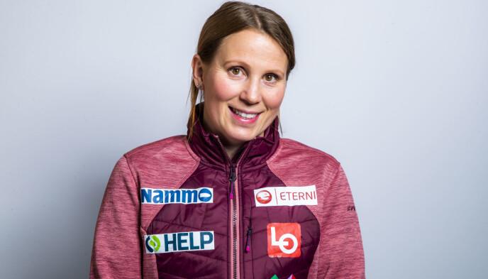 IMPONERT: Trener Line Jahr. Foto: Håkon Mosvold Larsen / NTB