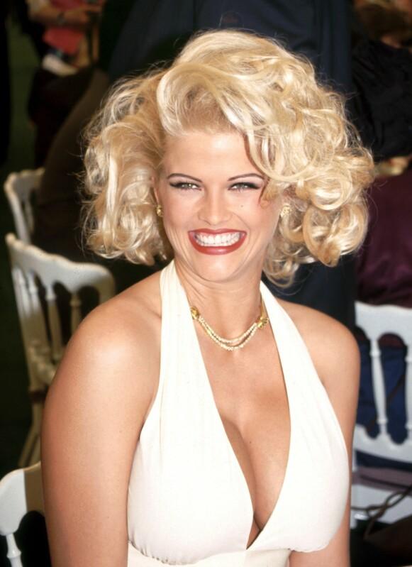 IKONISK: Anna Nicole Smith var et ikon i Hollywood tida hun levde. Foto: Alex Berliner / BEI / REX / NTB