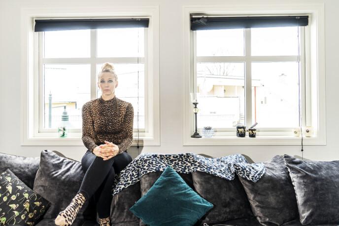 OVERMEDISINERT: Pardal fant nylig ut at hun har brukt for mye av medisinen hun har gått på mot hyperhidrose. Foto: Hans Arne Vedlog / Dagbladet