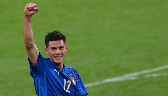 TALISMAN: Matteo Pessina har vist seg som gull verdt for Italia. Foto: Pool via REUTERS/Laurence Griffiths