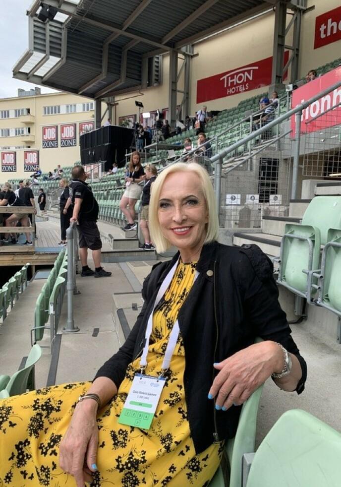 PENSJONIST: - Det var litt brutalt. Jeg må innrømme det, sier Karen-Marie Ellefsen om avgangen i NRK. Foto: Tore Ulrik Bratland
