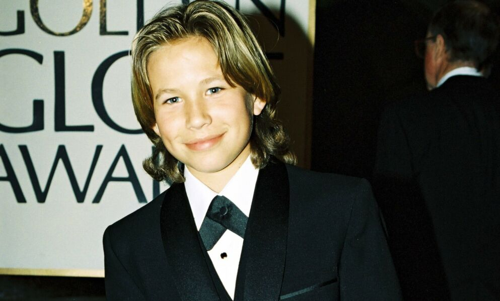PÅ TOPP: Jonathan Taylor Thomas valgte å gi seg da han var på topp i Hollywood. Her fra Golden Globe-utdelinga i 1995. Foto: Shutterstock/NTB