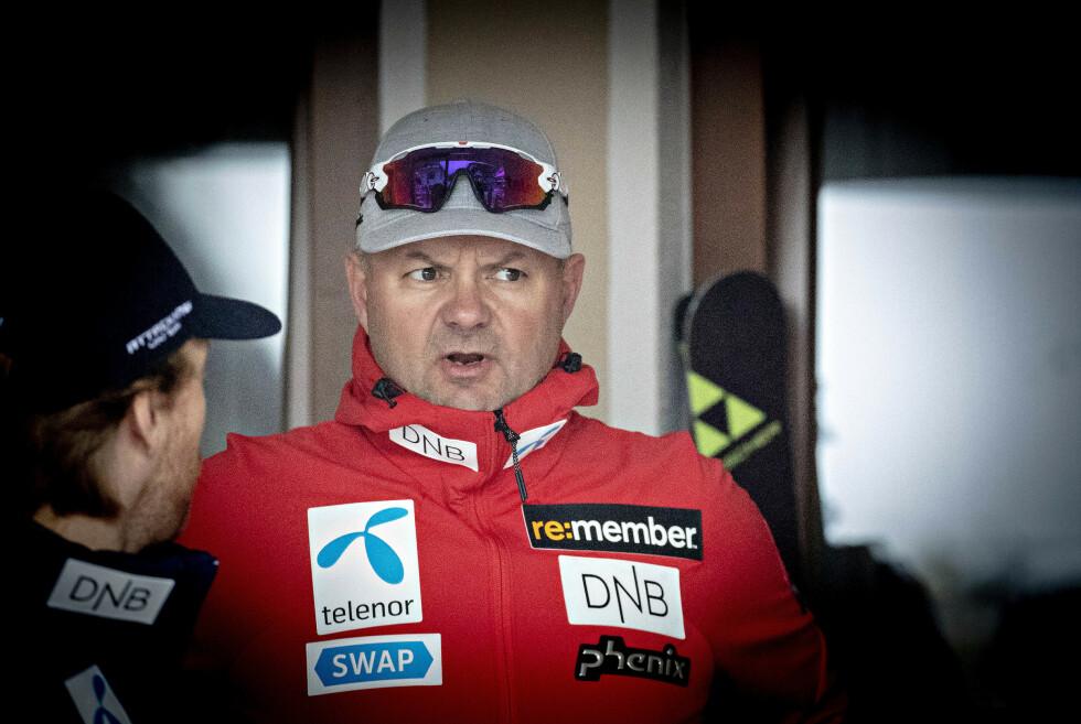 DIRETTORE SPORTIVO: Claus Ryste, qui da Sölden nel 2018. Foto: Bjørn Langsem/Dagbladet