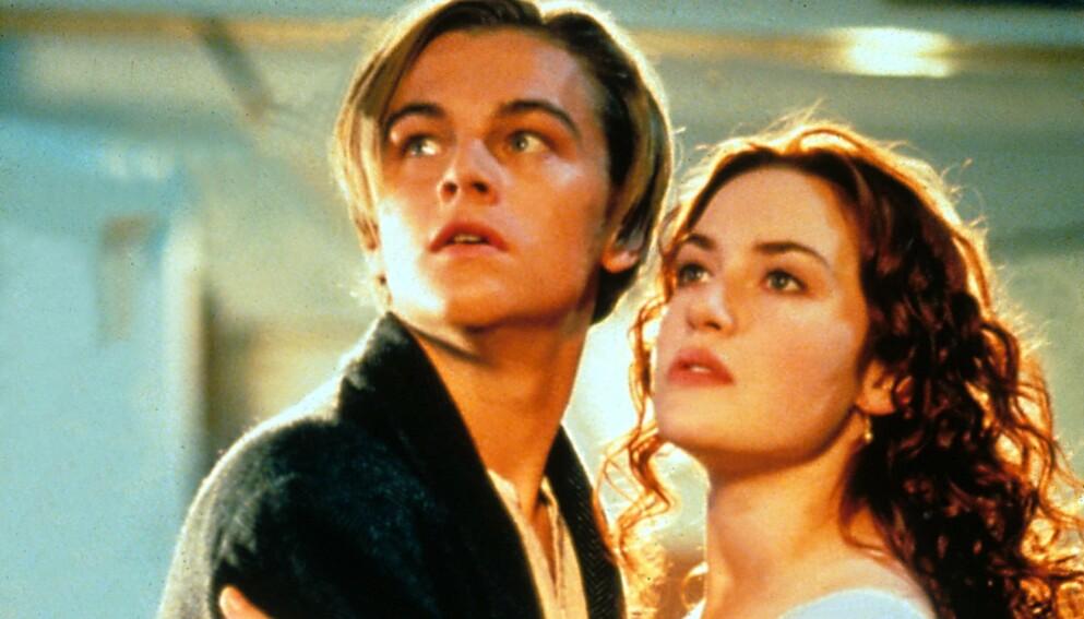 KJÆRLIGHET: Alle som har sett «Titanic» er kjent med kjærlighetshistorien mellom karakterene Jack og Rose. Det er imidlertid også en annen historie som gjemmer seg i filmen. Foto: Moviestore/REX/NTB