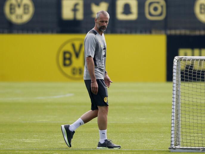 NY TRENER: Marco Rose leder nå Borussia Dortmund. Foto: Reuters / NTB