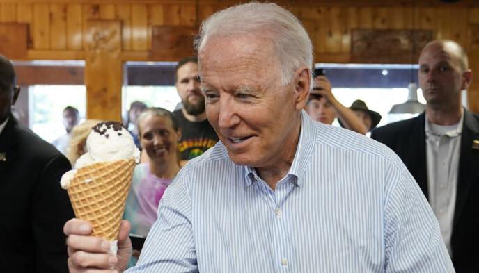 President of the United States: Joe Biden, 78 years old.  Photo: NDP