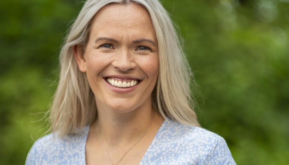 GLADNYHET: NRK-profil Carina Olset delte søndag kveld en gladnyhet på Instagram. Foto: Espen Solli