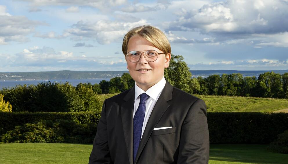 VIDEREGÅENDE: Kongehuset avslører mandag hvor prins Sverre Magnus skal bli elev til høsten. Foto: Lise Åserud / NTB