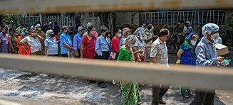 Storstilt vaksinesvindel i India