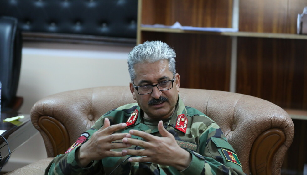 Stock: According to General Azadullah Kohistani, the Americans left without saying a word.  Photo: AP Photo / Rahmat Gul / NDP