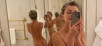 Setter fyr på nettet med nakenbilde
