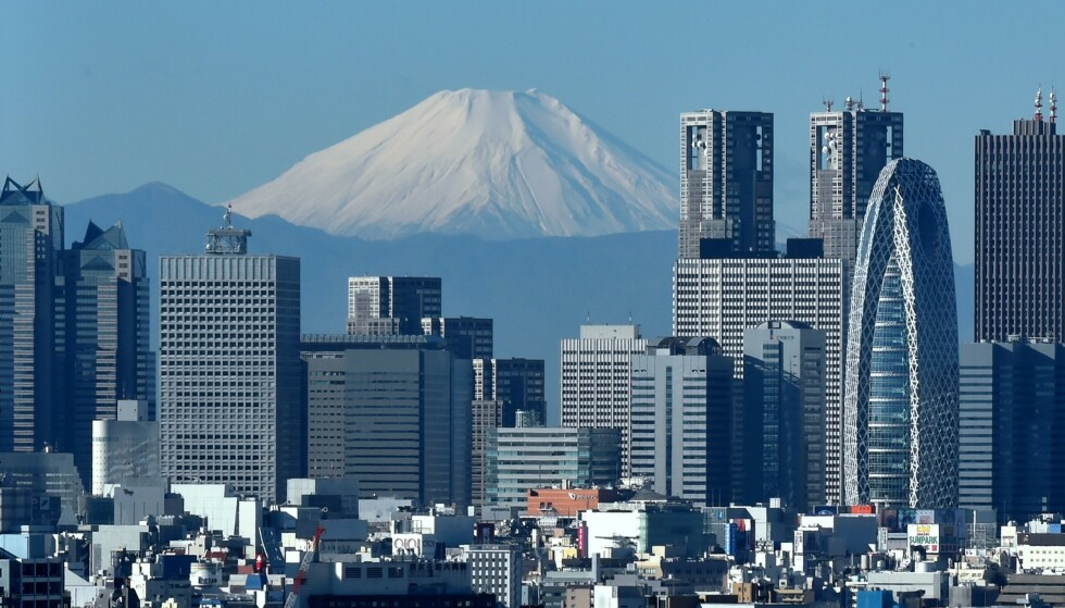 UNNTAKSTILSTAND: Japan erklærer unntakstilstand i Tokyo. Foto: AFP