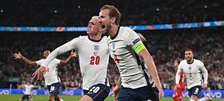 England til finalen