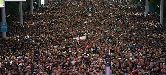 Wembley-bilder vekker oppsikt: - Et rot