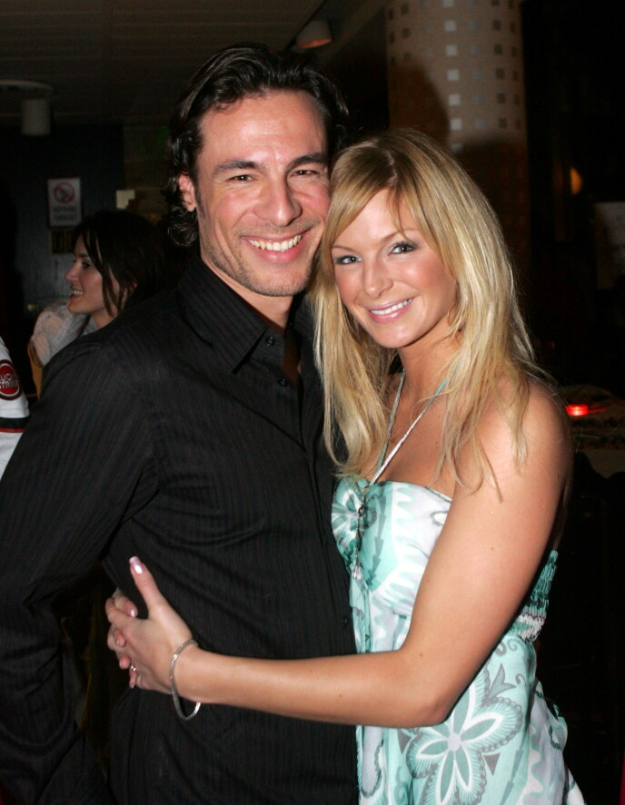 2005: Andreas Hoelke en Katherine Suerland in 2005, een jaar voordat ze trouwden.  Foto: Knut Falch / NTB