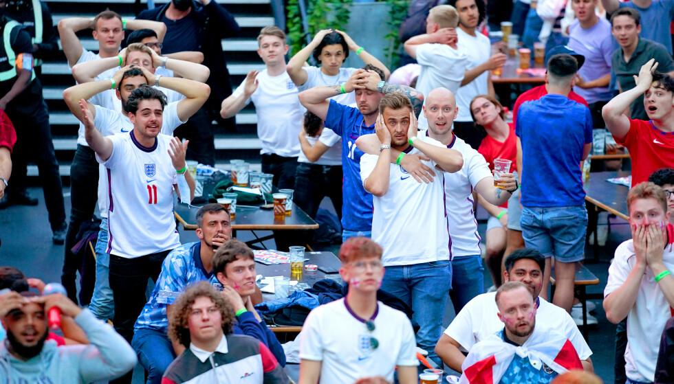 MYE SPENN: Engelskmennene brukte mye penger under onsdagems semifinale. Foto: NTB Scanpix