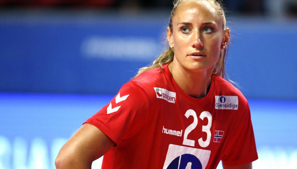 OL-KLAR: Camilla Herrem gleder seg til å dra til et OL hun har venta på i fem år. Likevel syns hun det er synd at mesterskapet går av stabelen uten publikum. Foto: Stphane Pillaud / NTB