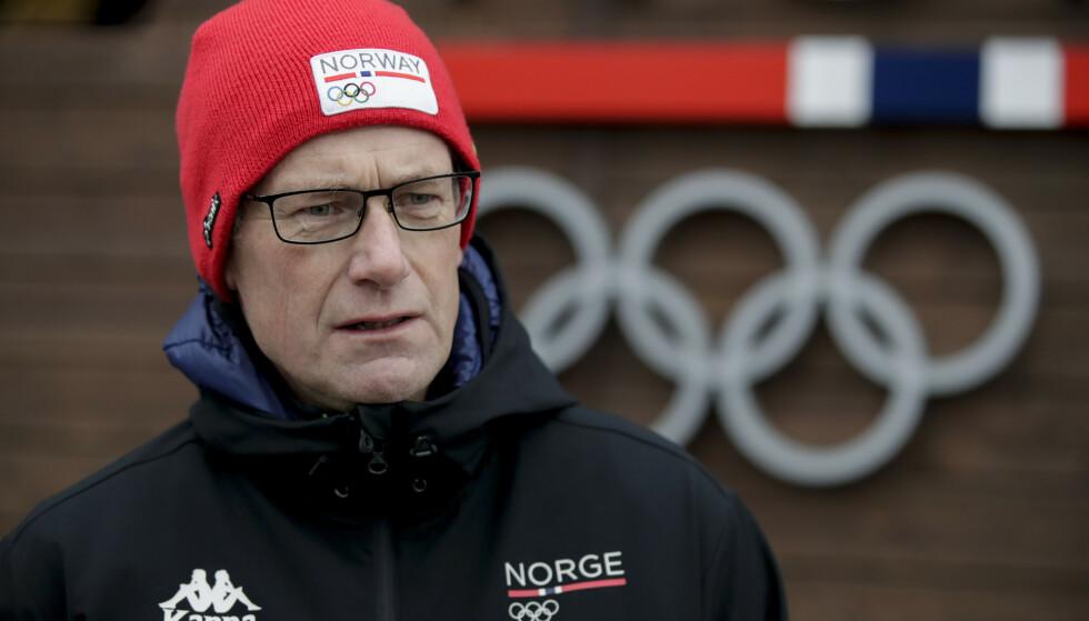 TILPASSER SEG SITUASJONEN: Toppidrettssjef Tore Øvrebø på Olympiatoppen. Foto: Vidar Ruud / NTB