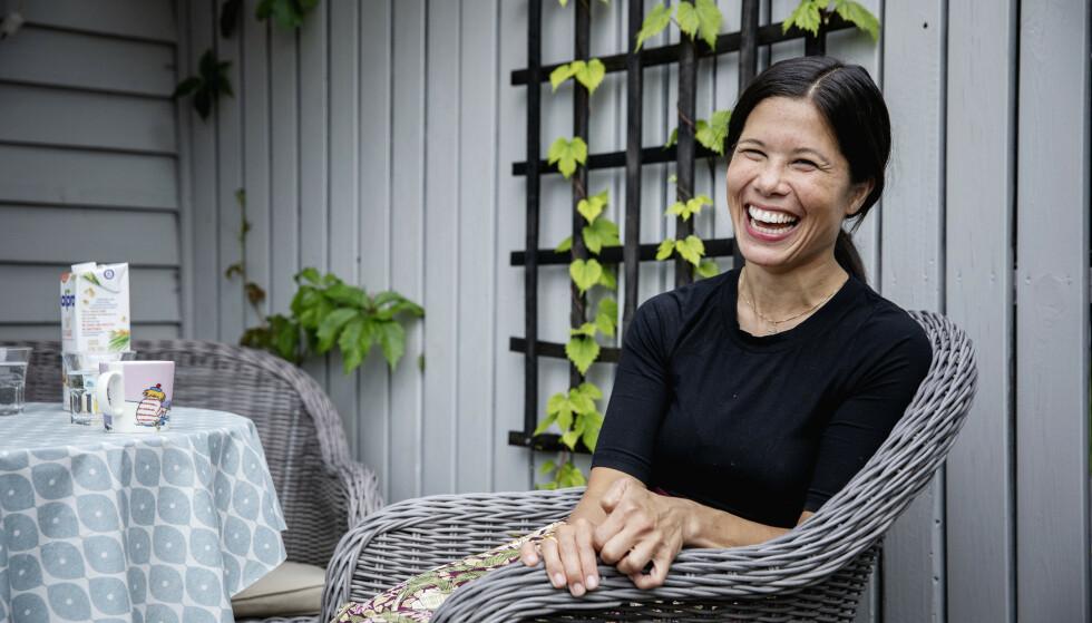 VIL PÅ STORTINGET: Lan Marie Berg er førstekandidat på MGDs stortingsliste i Oslo. Hun mener bedre tiltak for å stanse netthets er én av mange viktig oppgaver for en ny regjering. Foto: Nina Hansen / Dagbladet