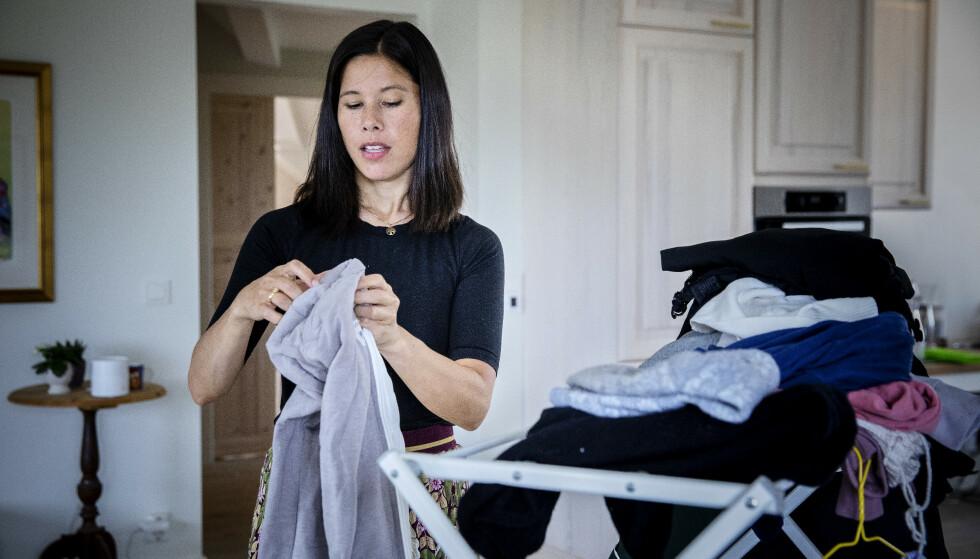 IKKE OVERSIKT: Lan Marie Berg aner ikke hvor mye hat og trusler hun har mottatt de siste årene. Foto: Nina Hansen / Dagbladet