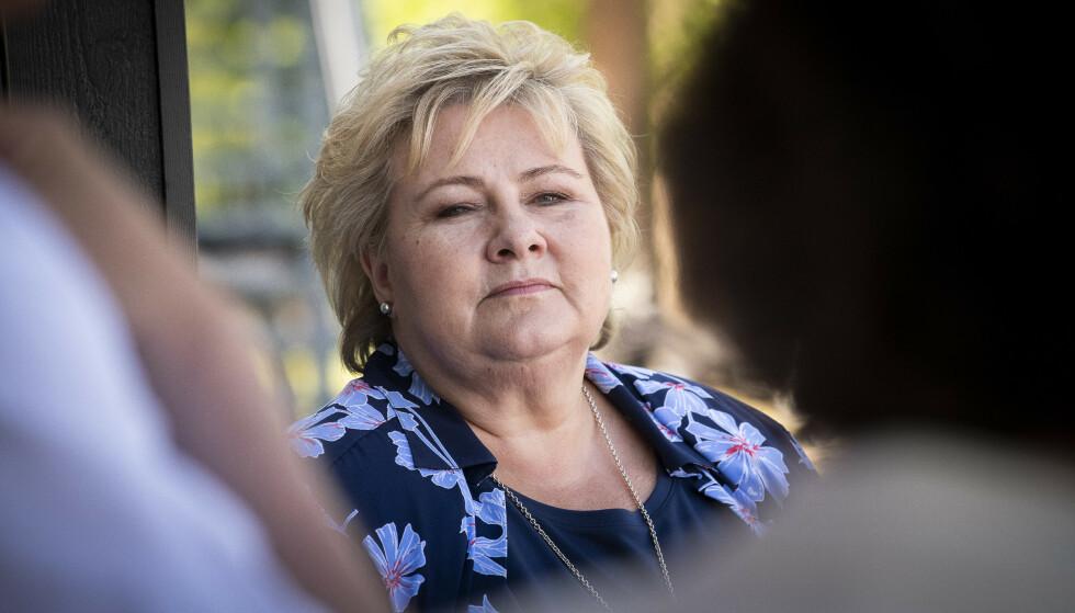 SKAL SVARE: Statssekretær Thor Kleppen Sættem forteller Dagbladet at Erna Solberg skal svare på Matildas brev, når hun returnerer fra sommerferie. Foto: Lars Eivind Bones / Dagbladet
