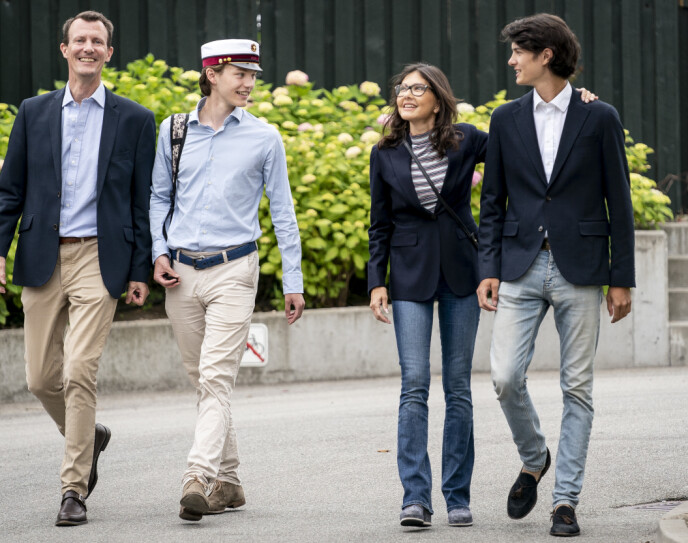 HYLLES: Danskene liker grevinne Alexandras åpenhet, viser en fersk spørreundersøkelse. Foto: Mads Claus Rasmussen / Ritzau Scanpix / NTB