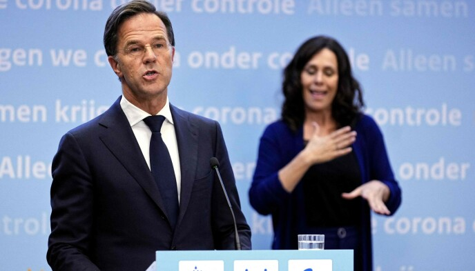 Cognitive Errors: Rutte admits that the Dutch government misjudged and opened up society too quickly.  Photo: Bill Nijuis / AFP / NDP