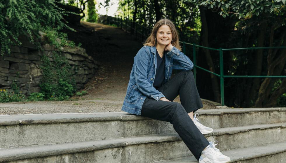 TIL KAMP: Josefine Gjerde er i dag politisk rådgiver for byrådet i Bergen, og stiller som 2. kandidat fra Hordaland til stortingsvalget i høst. Foto: Pernille Sommer