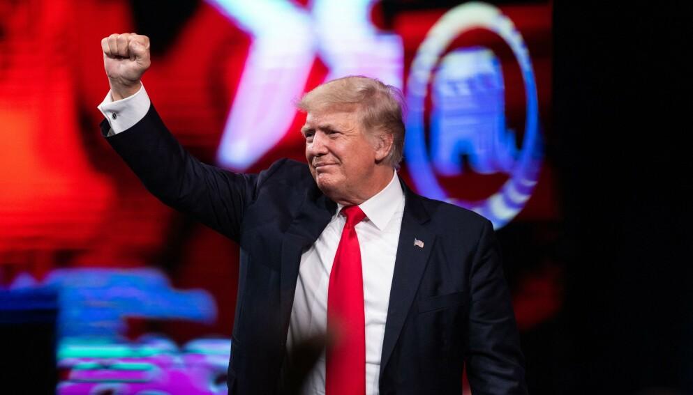 KNOCKOUT: USA-forsker mener Trumps regjering var mer kaos enn både Carters, Fords og Reagans regjeringer.Foto: Andy Jacobsohn / AFP / NTB