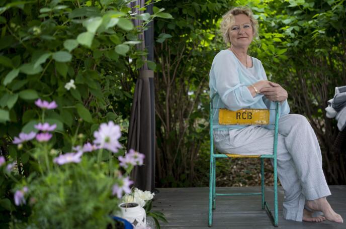 RESEARCH: Trude Teige jobbet lenge med researcharbeidet til romanen «Morfar puster med havet». Foto: Fredrik Hagen / Dagbladet