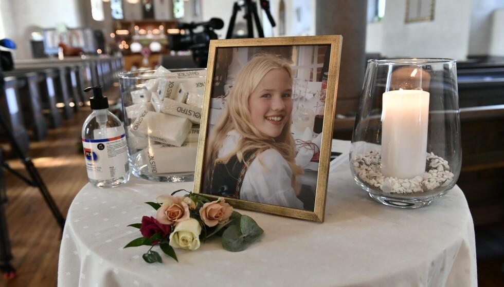 BISETTES: Victoria Myrset (12) og søsteren bisettes fra Oslo bisettes torsdag fra Ris kirke. - Jeg kjenner på savnet, sier soknepresten i Ris Kirke. Foto: Lars Eivind Bones / Dagbladet.