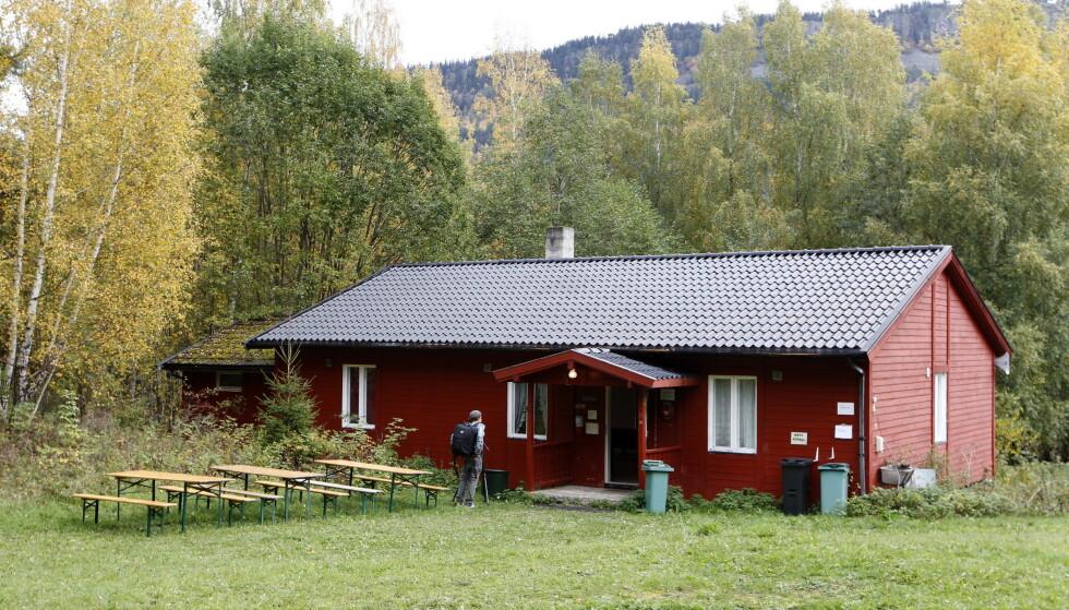 SKOLESTUA: Sofie Nilsen var en av ungdommene som gjemte seg i Skolestua. Foto: Erlend Aas / NTB