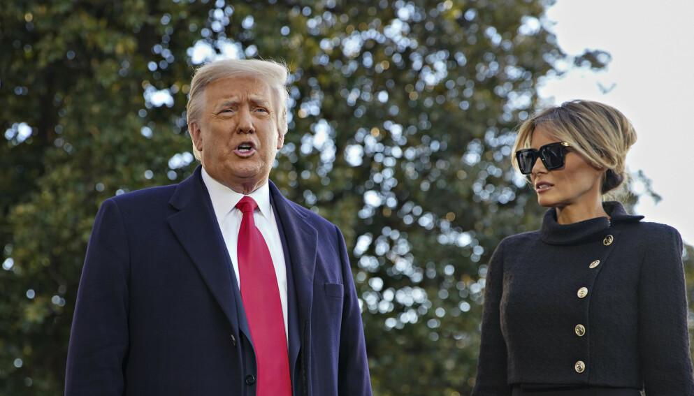 FEST: Donald Trump hadde et stort ønske om å holde fest i Det hvite hus under valgnatta. Det ønsket ikke kona. Foto: Shutterstock / NTB