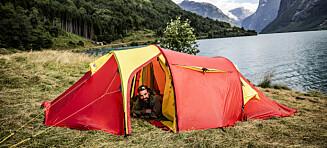 Ulovlig camping: - Det visste jeg ikke