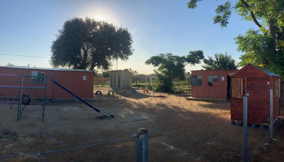 NYTT LOKALE: Den nye barnehagen som nå har plass til 45 barn. Foto: Privat
