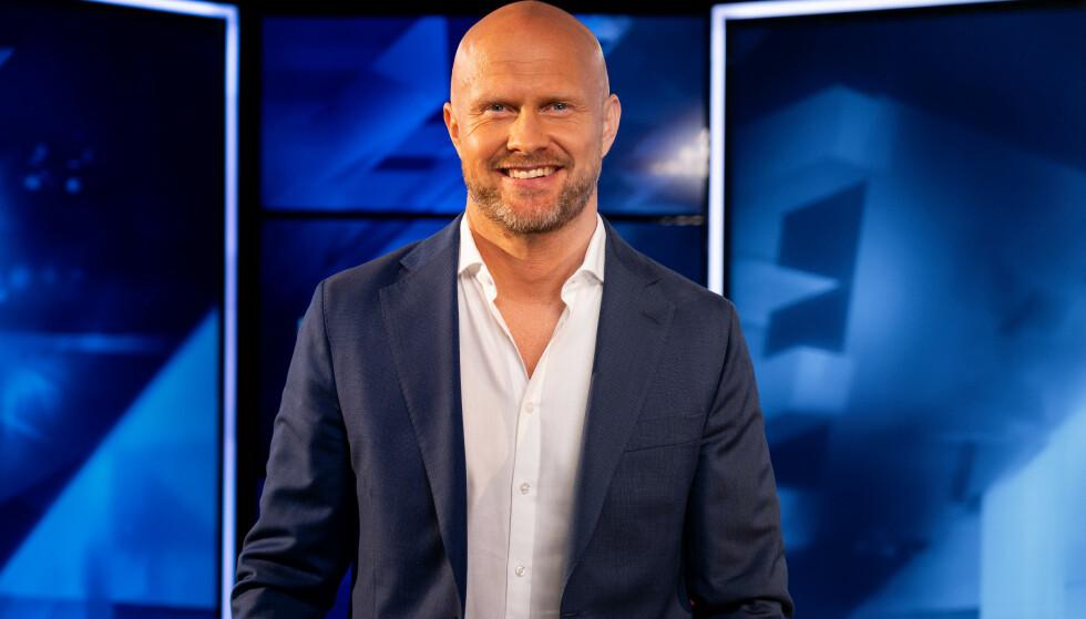 SKEPTISK: Eurosports Joacim Jonsson er bekymret for Branns framtid. Foto: Eurosport / discovery+ / NTB