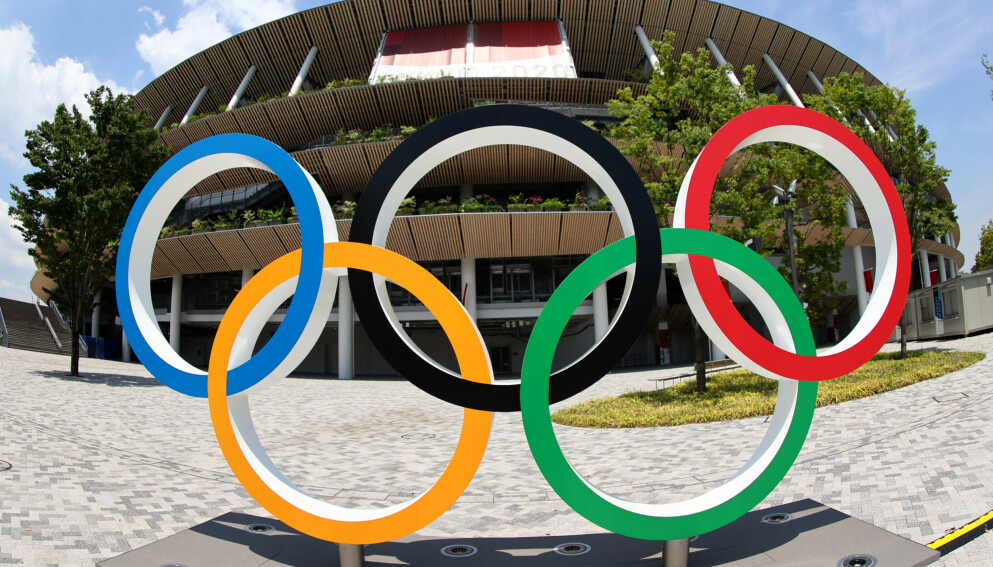 TELLER NED: OL i Tokyo åpner offsielt fredag. Foto: NTB
