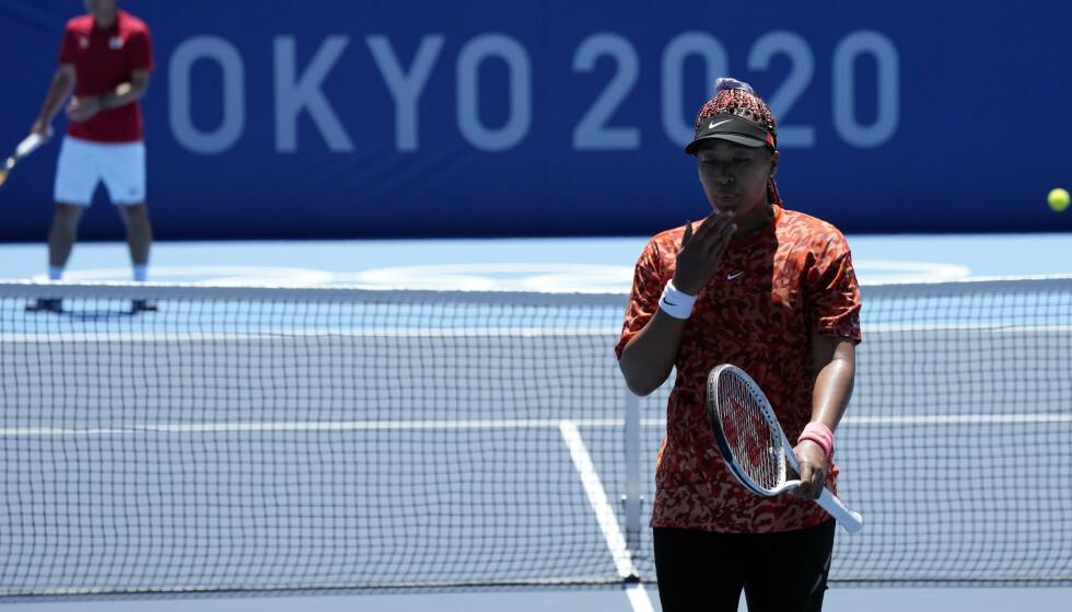 OL: Naomi Osaka er rangert som nummer to i verden på ATP-rankingen og forbereder seg nå til OL. FOTO: AP