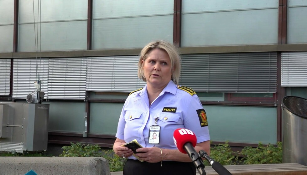 INVESTIGATION LEADER: Grete Lien Metlid in the Oslo police district is leading the investigation of the murder case.  Photo: Ivan Larsson / Dagbladet