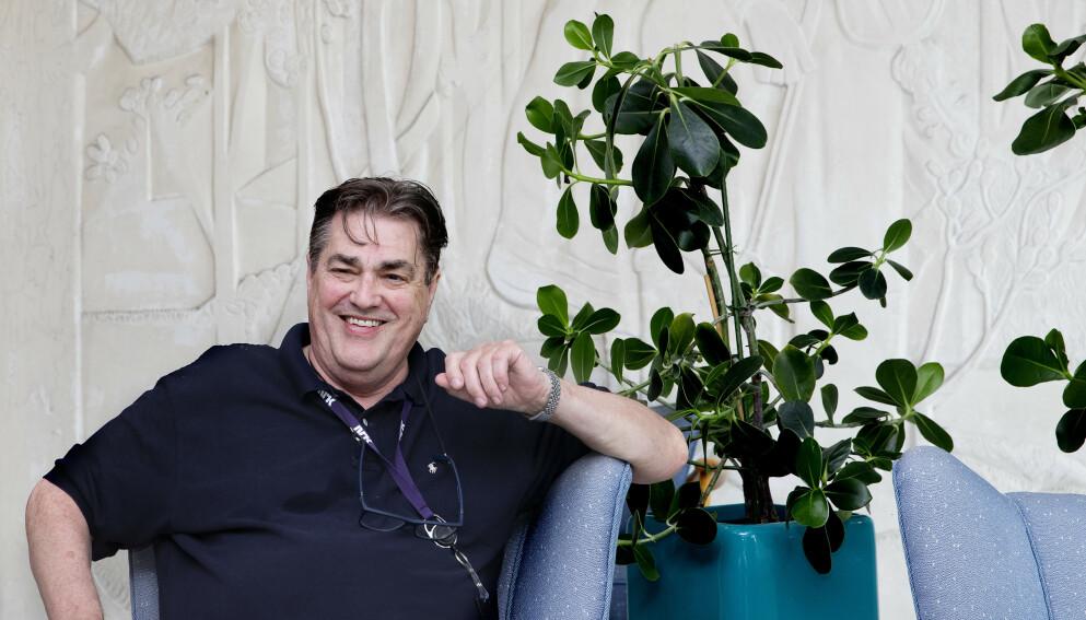 TILBAKE: Denne sommeren er tv- og radioprofilen Alf Tande-Petersen, best kjent som Tande-P, tilbake på lufta med «Ferievikarene» på NRK Radio. Foto: Kristin Svorte / Dagbladet