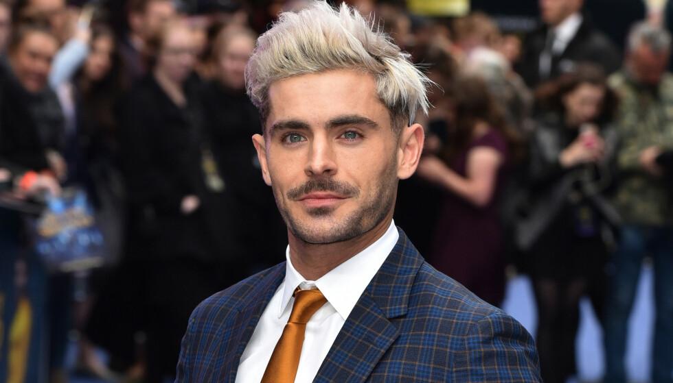 POPULÆR: Zac Efron ble stjerne over natta da han spilte hovedrollen i «High School Musical». Populariteten har ikke blitt mindre gjennom åra. Foto: Splash News / NTB