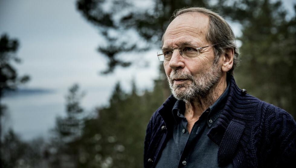 SPILLER VED BEHOV: Ole Paus forteller han sjeldent spiller «Mitt lille land», kun når folk ber han om det. Foto: Christian Roth Christensen / Dagbladet